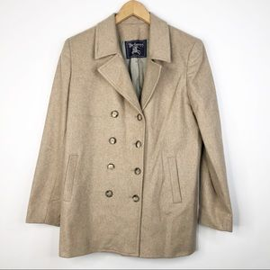 Burberry Vintage Cashmere Tan Coat Jacket